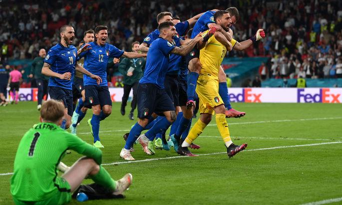Самый быстрый гол в финале, статусность Италии. Пять фактов последнего дня Евро-2020