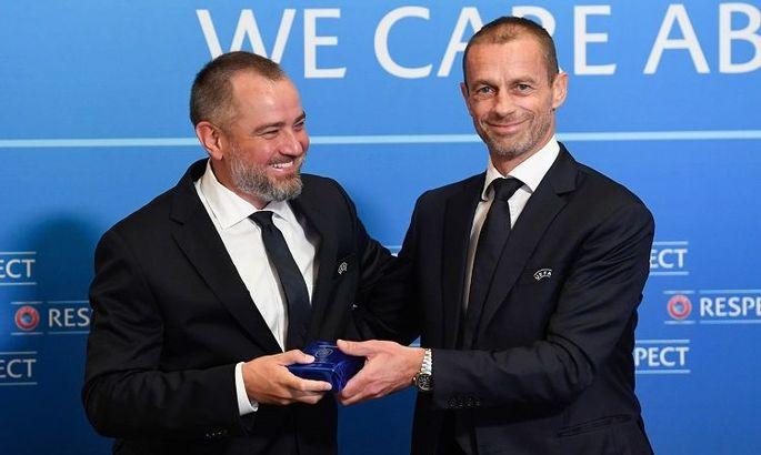 Павелко: Успешный опыт Украины по борьбе с договорными матчами полезен и на уровне УЕФА