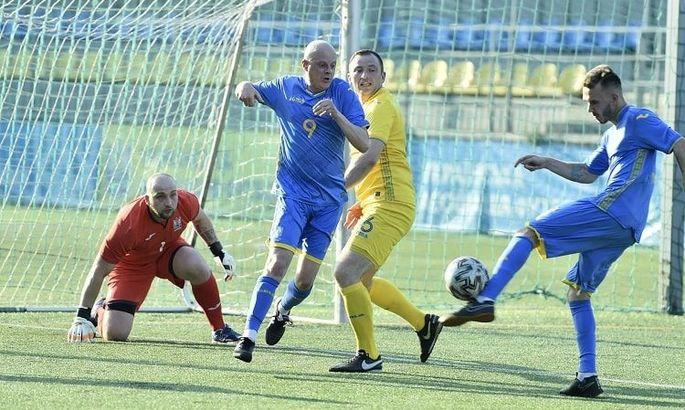 Вацко в поле, Цыганык - тренер. Сборная спортивных журналистов обыграла команду УАФ