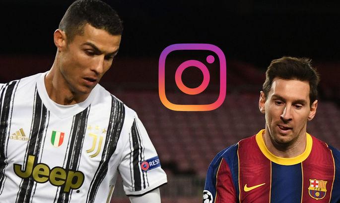 Месси побил рекорд Роналду по числу лайков под фотографией в Instagram