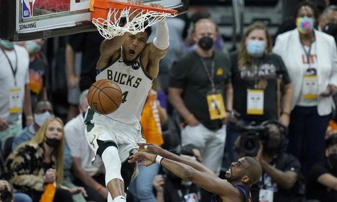 Мини-фильм пятого матча финала НБА между Финиксом и Милуоки