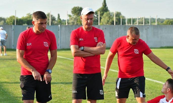 Кривбасс утвердил тренерский штаб команды