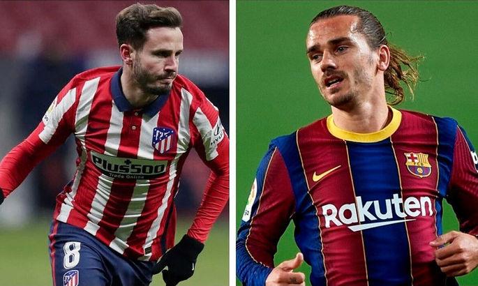 Барселона и чемпион Испании прекратили переговоры по поводу обмена Гризманна на Сауля