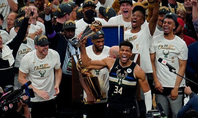 Милуоки впервые с 1971 года стал чемпионом НБА