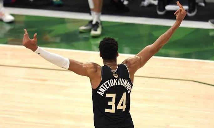 Адетокумбо признан MVP финала плей-офф НБА