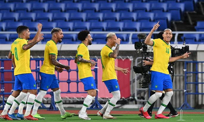 Футбол на ОИ-2020. Бразилия обыграла Германию, Мексика вынесла Францию, Аргентина проиграла Австралии