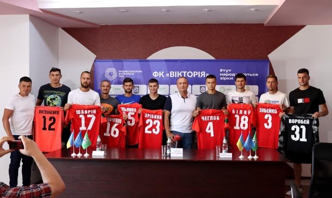 Состав дебютанта Второй лиги пополнили девять новичков