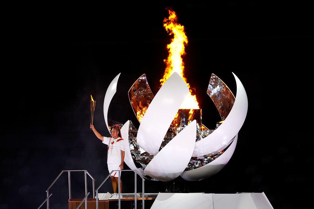 Всі виходили під музику з відеоігор, Осака запалила вогонь. У Токіо відкрилися Олімпійські ігри - изображение 21