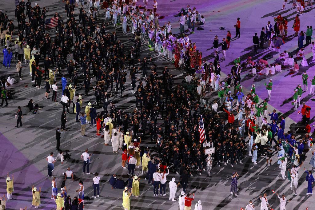 Всі виходили під музику з відеоігор, Осака запалила вогонь. У Токіо відкрилися Олімпійські ігри - изображение 13
