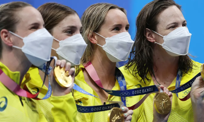 Австралійські плавчині встановили перший світовий рекорд на Олімпіаді 2020