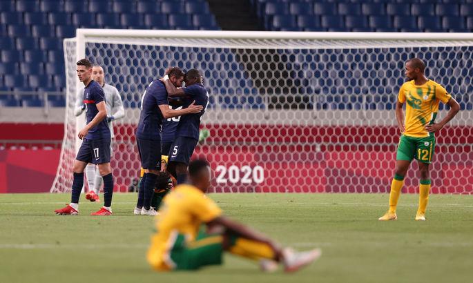 Олимпиада. Хет-трик Жиньяка приносит Франции первую победу, неудача Бразилии
