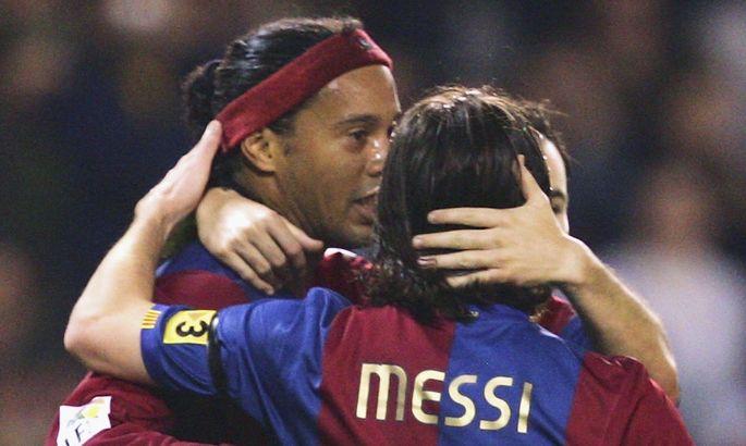 Роналдиньо: Месси закончит карьеру и оставит свой номер – никто больше не будет играть с десяткой на спине