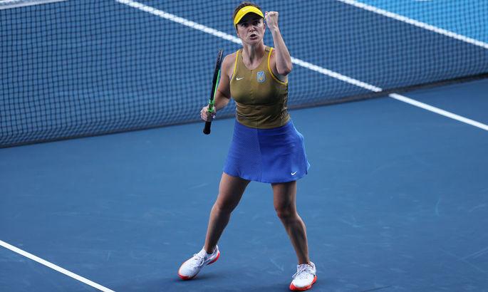 Свитолина уверенно бьёт итальянку на пути в полуфинал Олимпиады. Как это было