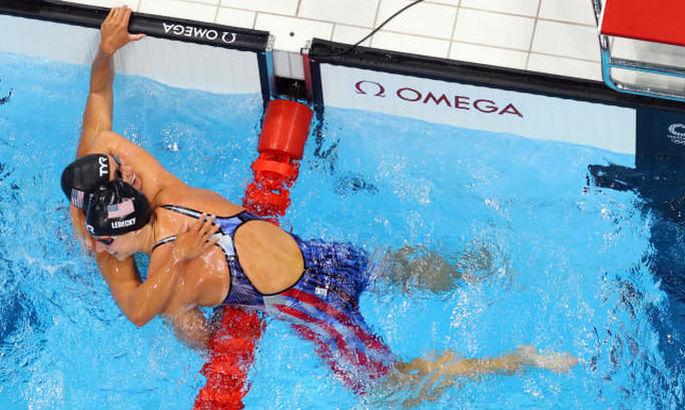 Ледеки стала 6-кратной олимпийской чемпионкой