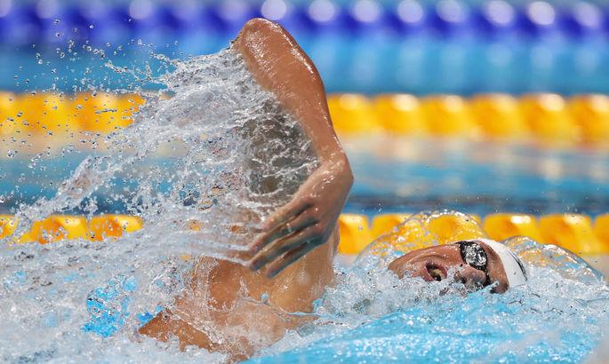 Украинский пловец Михаил Романчук добыл бронзу на Олимпиаде-2020