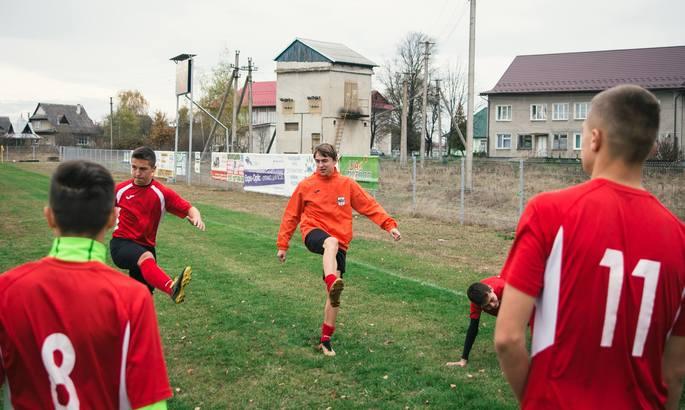 Футбольный клуб из села в Ивано-Франковской области претендует на грант Британского Совета