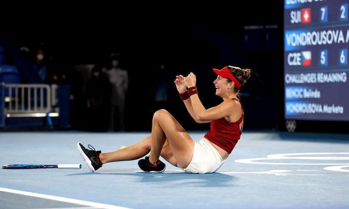Белінда Бенчіч виграла тенісний турнір Олімпіади-2020