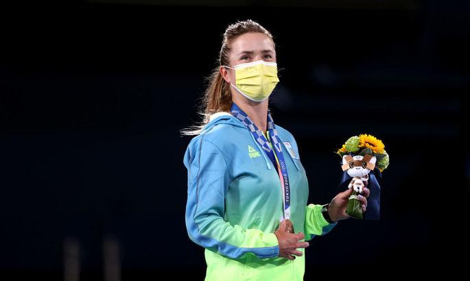 Элина Свитолина получила олимпийскую медаль: Лучшие фото из церемонии награждения