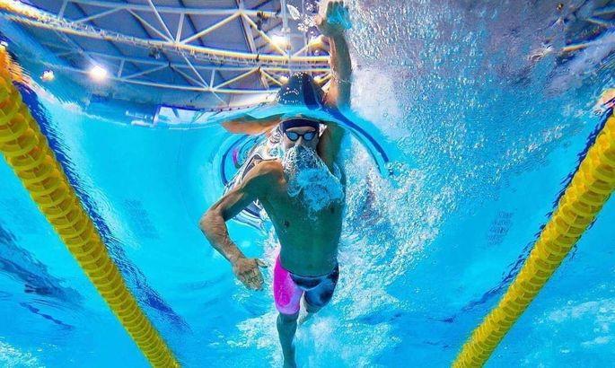 Олимпиада 2020. Михаил Романчук - серебряный призер в заплыве на 1500 метров
