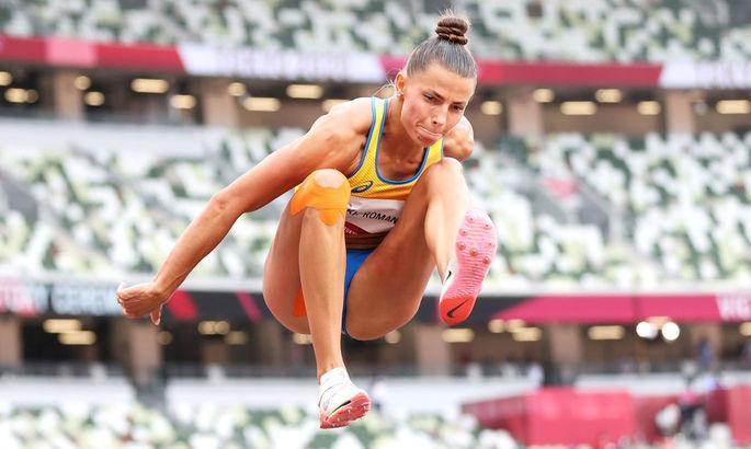Олимпиада 2020. Украинка Бех-Романчук с трудом квалифицировалась в финал прыжков в длину
