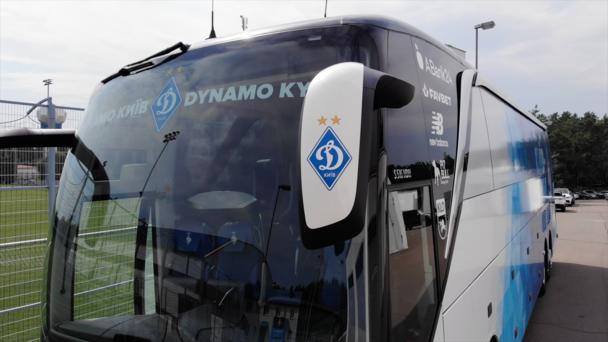 ФОТО. Динамо презентувало новий клубний автобус - изображение 3