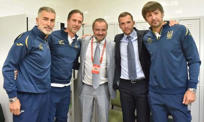 Павелко: Не виключаю, що набувши досвіду роботи в клубі, Шевченко зможе повернутися в збірну