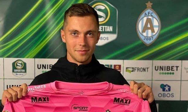 Вратарь молодежной сборной Украины подписал контракт со шведским клубом