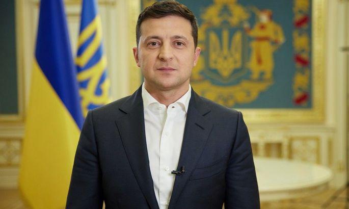 Президент України Зеленський привітав Усика із перемогою над Джошуа. Фото