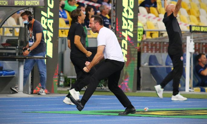 1:0 – Шахтёр открывает счёт на Олимпийском