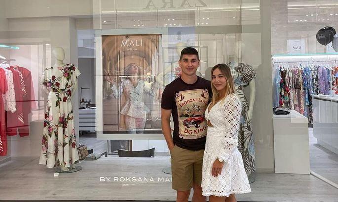 Жена Руслана Малиновского открыла собственное ателье в Бергамо. ФОТО