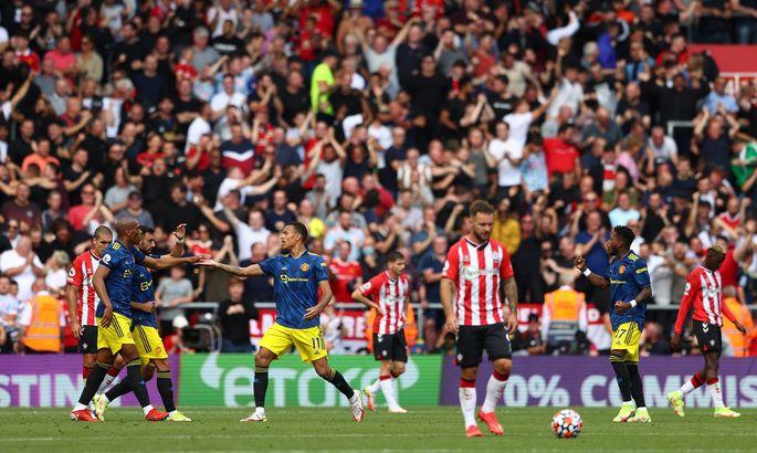 Саутгемптон - Манчестер Юнайтед 1:1. Святые - крепкие орешки