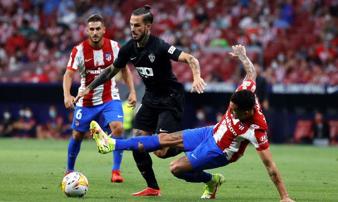 Экс-вратарь Реала привез. Атлетико - Эльче 1:0. Видео гола и обзор матча