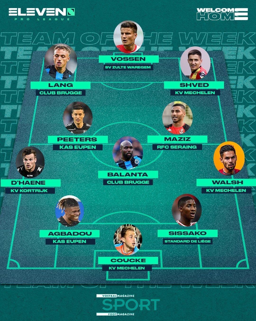 Швед попал в сборную тура чемпионата Бельгии по версии Eleven Sports - изображение 1