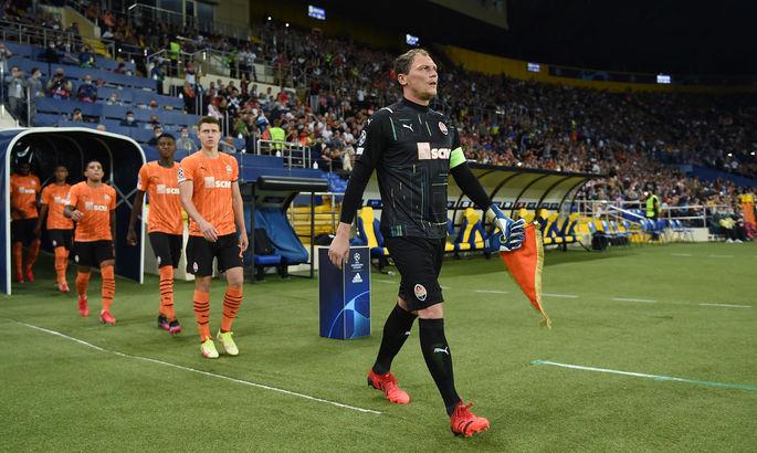 Петраков назначил Пятова капитаном сборной Украины