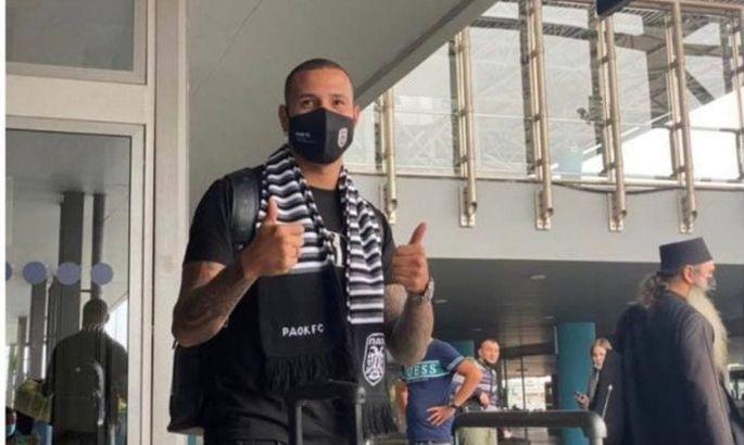 Сидклей прибыл в Грецию для подписания контракта с ПАОКом