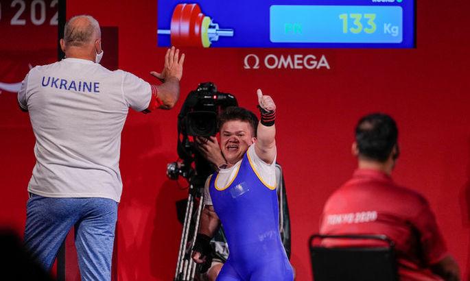 Украина идет 4-й по количеству медалей на Паралимпиаде в Токио