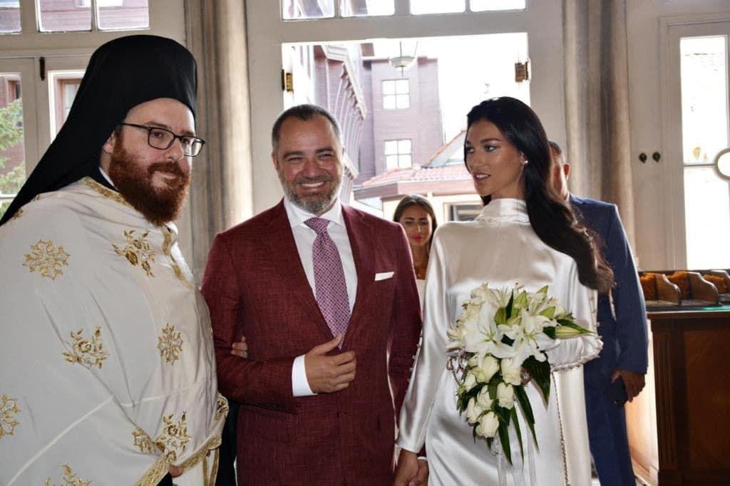 Павелко в Стамбуле повенчался с Екатериной Чаус - ФОТО - изображение 1