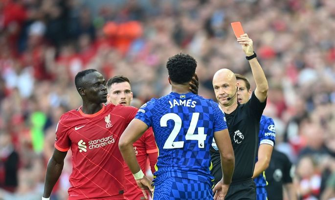 АПЛ. Ливерпуль - Челси 1:1. Правила есть правила
