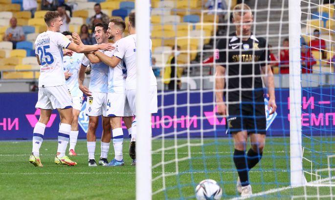 Динамо - Колос 7:0. Это коваливцы такие слабые, или киевляне сильные?