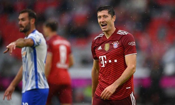Бундеслига. Бавария –Герта 5:0. Разгром имени Роберта Левандовски