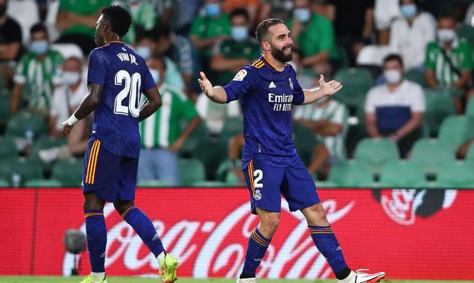 Примера. Бетис - Реал 0:1. Карвахаль выздоровел, вышел и забил