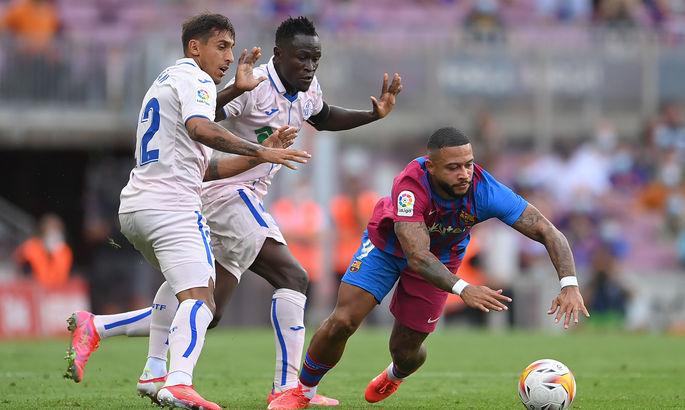 И снова выручает Депай. Барселона - Хетафе 2:1. Видео голов и обзор матча
