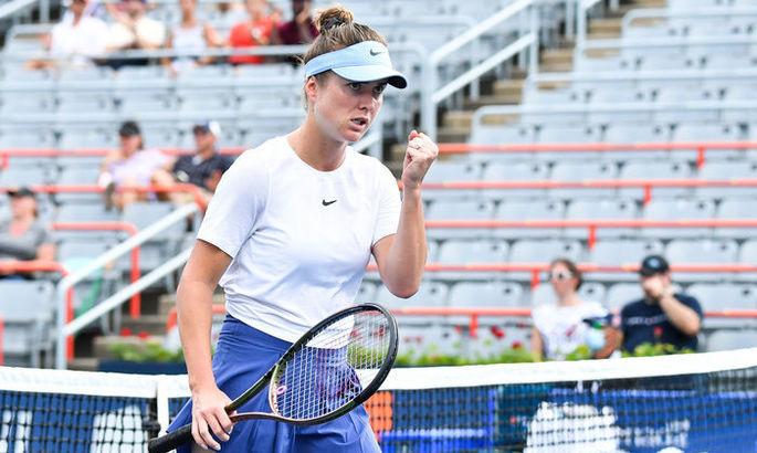 Свитолина пробилась в 1/16 финала US Open
