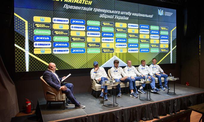 Expert club Parimatch: Первый рабочий день нового тренера сборной