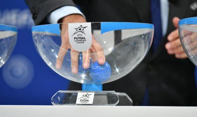 Ураган получил соперников по основному раунду Лиги чемпионов по футзалу