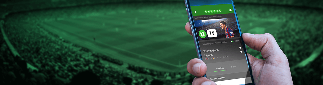 Download and installation of unibet android app