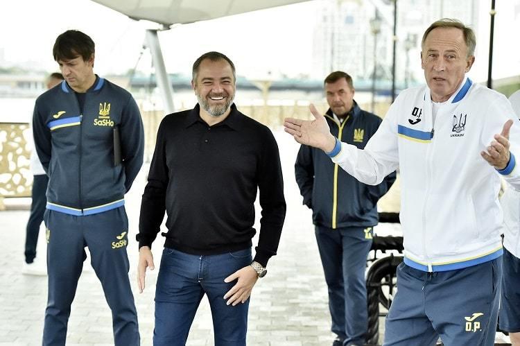 Павелко посетил лагерь сборной Украины перед матчем с Казахстаном - изображение 2