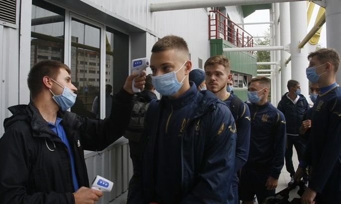 Украинская молодежка вылетела на матч отбора Евро-2023 против Сербии