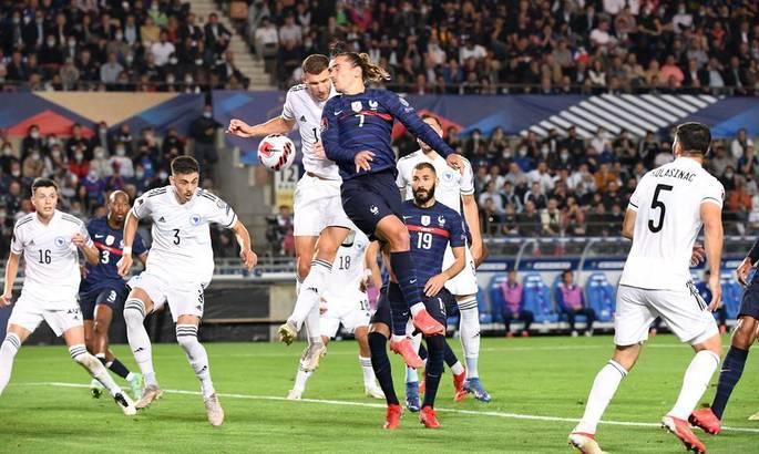 Франция - Босния и Герцеговина 1:1. Видео голов и обзор матча