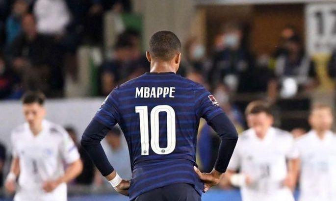 Мбаппе заменили в матче с Боснией из-за повреждения. Через 2 дня – поединок с Украиной